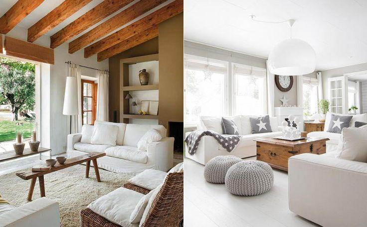 Białe meble i dodatki do salonu – przegląd inspiracji