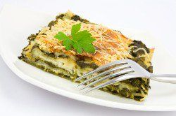 Olive Garden Florentine Lasagna is a spinach and mushroom based lasagna. You can either do this one with a marina or even an Alfredo sauce.