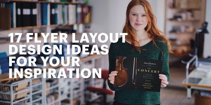 Best 25+ Flyer Layout Ideas On Pinterest
