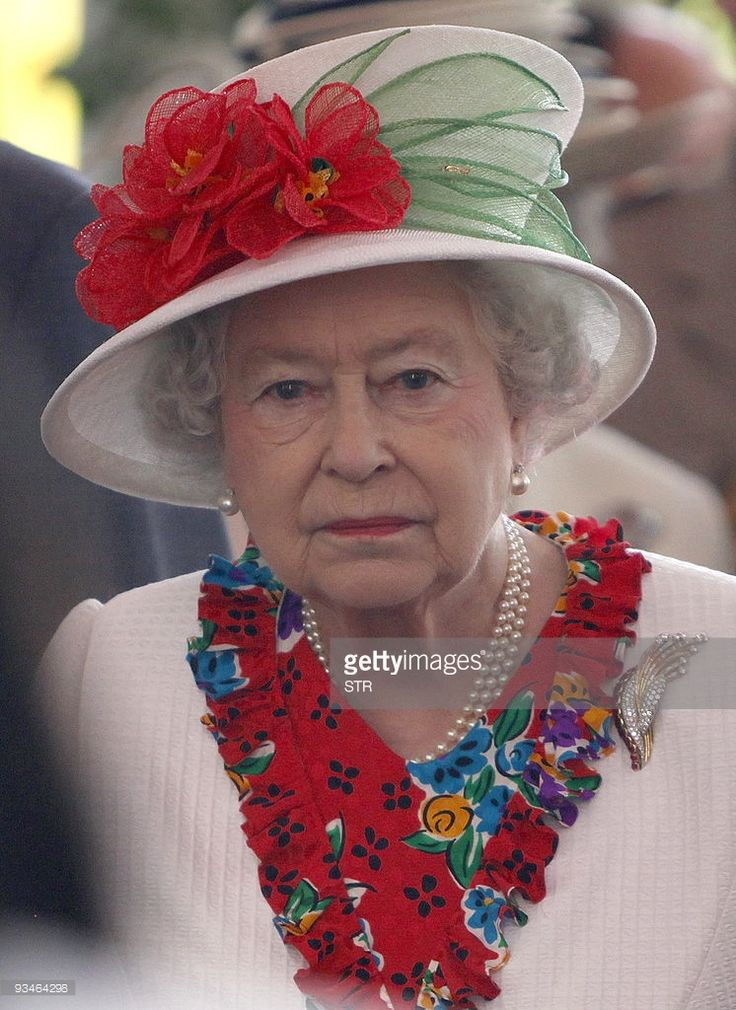 Britain's Queen Elizabeth II, the titular head of the Commonwealth, is guided in a visit around Port of Spain, during the Commonwealth Heads of Government's meeting on November 28, 2009. Hopes were rising Saturday that a new global climate pact is within reach after rich nations at the Commonwealth summit in Trinidad and Tobago offered to help poorer countries bear the costs of implementing any deal.  AFP PHOTO/STR (Photo credit should read STR/AFP/Getty Images)