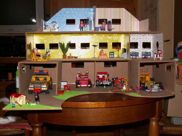 Playmobile maison bois recherche google palymobile pinterest d playmobil and search - Toute les maison playmobil ...