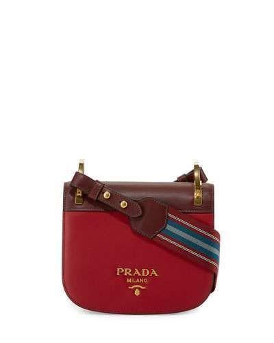 Prada Pionnière Web-Strap Shoulder Bag d79d344ce1c