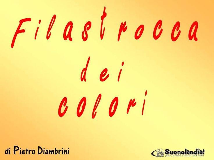 FILASTROCCA DEI COLORI - Canzoni per bambini di Pietro Diambrini (+playl...