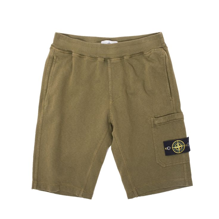 Super cozy new Stone Island Fleece Bermuda Shorts.