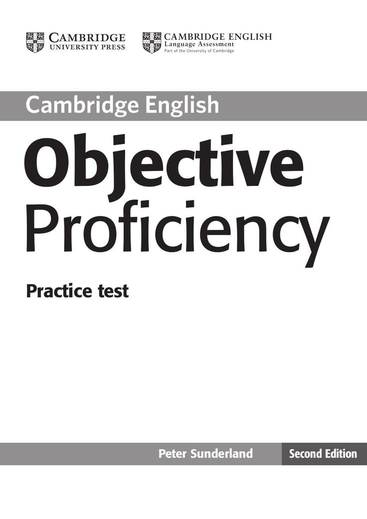 Objective proficiency exam practice by sberral via slideshare