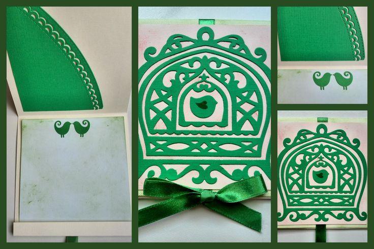 Wedding greeting card made by SamV