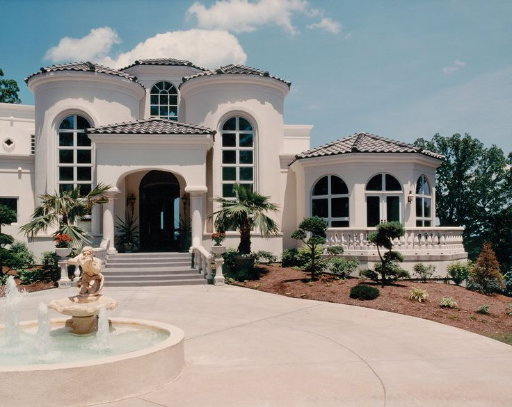 Mediterranean & Tuscan homes - LuxHomes.com - The world's #1 site for luxury home connoisseurs