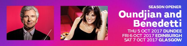 Latest news Nicola Benedetti and the RSNO invite you to tweet along on Wednesday