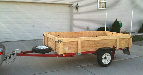25 Best Ideas About Utility Trailer On Pinterest 4x8