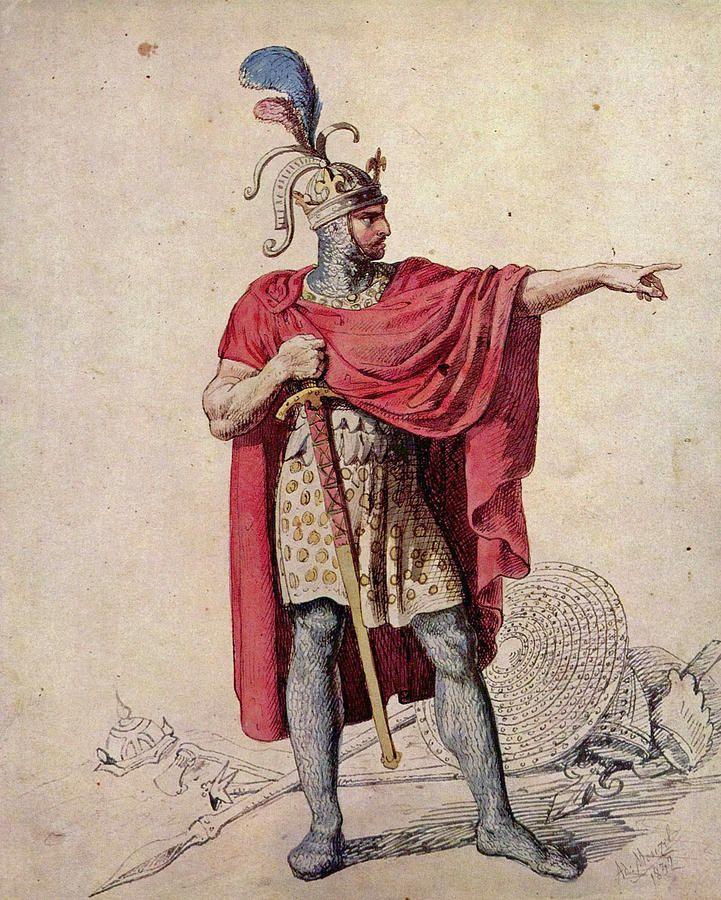 Anglický král Alfréd Veliký si s neodbytnými Vikingy nakonec úspěšně poradí.
