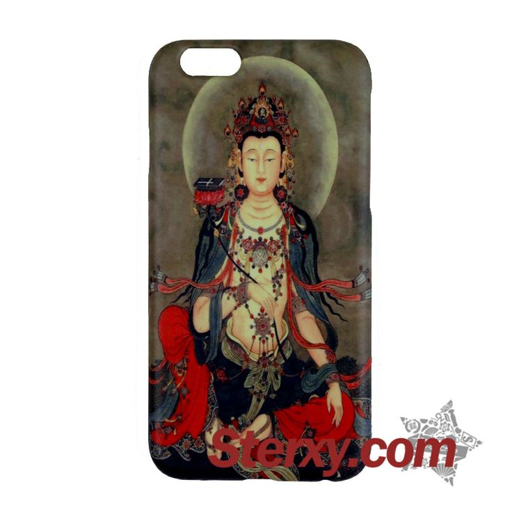 Add the Buddhist Manjushri case to your handset! Representing wisdom and intelligence, Manjushri is one of the four greatest Bodhisattvas. Find more iPhone cases on the following link. Buy now!  http://www.sterxy.com/category/Iphone-Cases/157.html