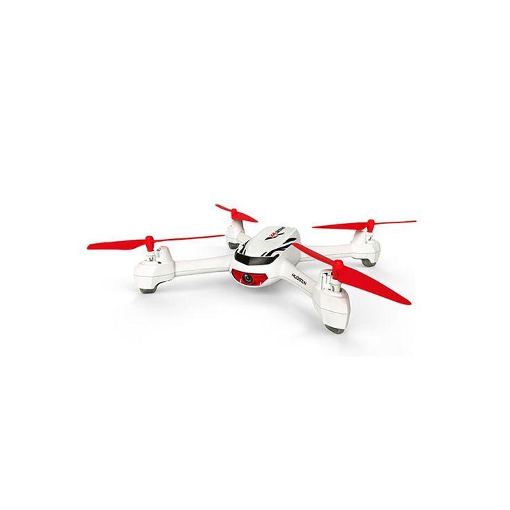 Hubsan H502E X4 Desire FPV Drone (White/Red) Main