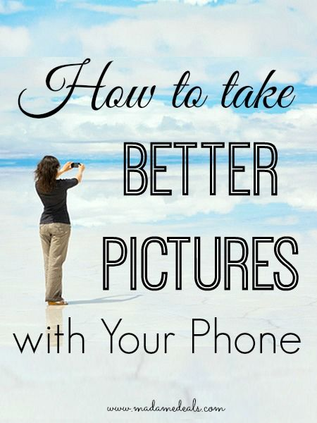 No need to buy high tech camera if you know these tips and tricks on how to take better pictures with your phone!