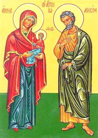 July 26 Sts Joachim and Anne