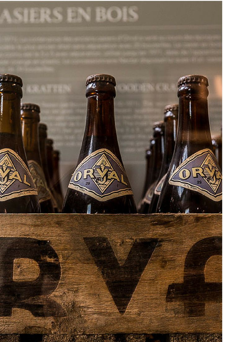 Orval, one of my favorites Belgian beers. An authentic trappist beer, made by the monks of the Orval Abbey
