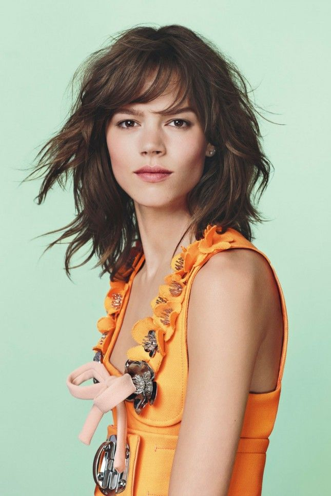 very Mandy Moore - love the texture, if only I had a cantaloupe colored dress to wear with it
