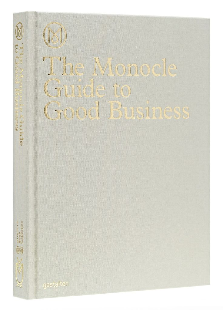 The Monocle Guide to Good Business is a book for would-be business leaders, start-ups, and established companies that feel it's time for some new ideas. It's a book made to be used. Write in its margins and turn over the corners of its pages. But don't expect management speak or miracles for untold riches. This is not a book about staging a revolution. Rather, this is a book about doing things well—from how you run the show to the pens you buy. And even about taking your dog to work.