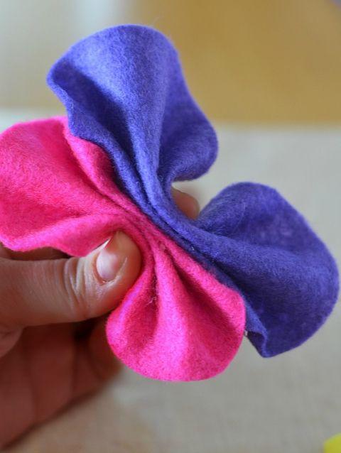 No Sew Felt Butterfly Craft