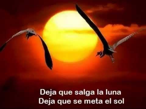 Nana Mouskouri - Cuando Sale La Luna (con letra, with lyrics)