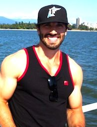 Jason garrison is a beauty!  those arms...and that smile!