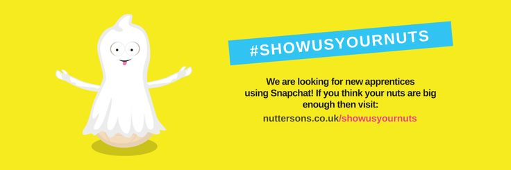 Snapchat Campaign #ShowUsYourNuts is the great opportunity to get your dream job just by sending a snapchat! If you tired of old face to face interviews - why not to try this?