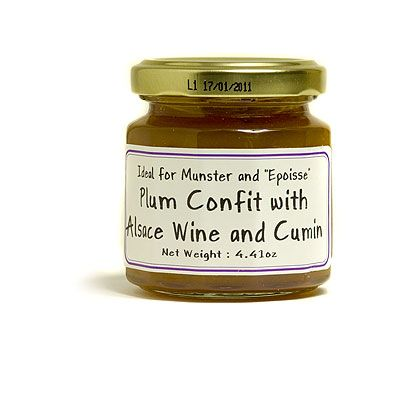L'Epicurien Plum Confit with Alsace Wine for Munster & Epoisses Cheese: $8.87