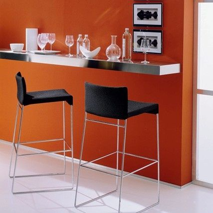 Wall mounted bar table best prices on shelf tables in - The benefits of contemporary bar furniture ...