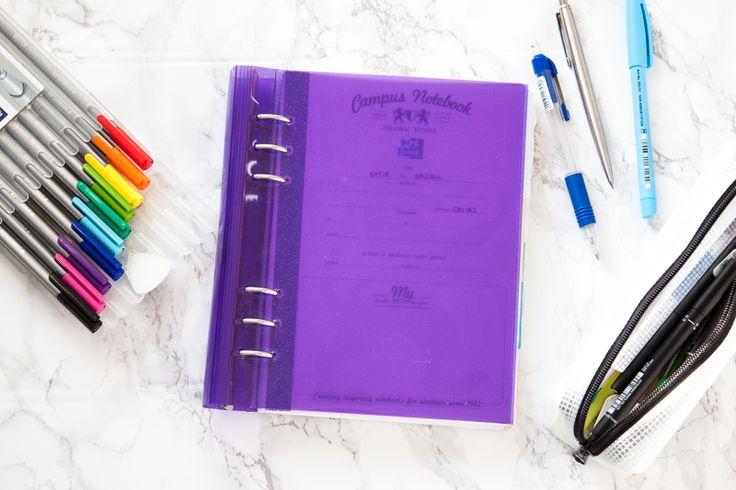 Using The Filofax Clipbook For University | lifeofkitty.co.uk