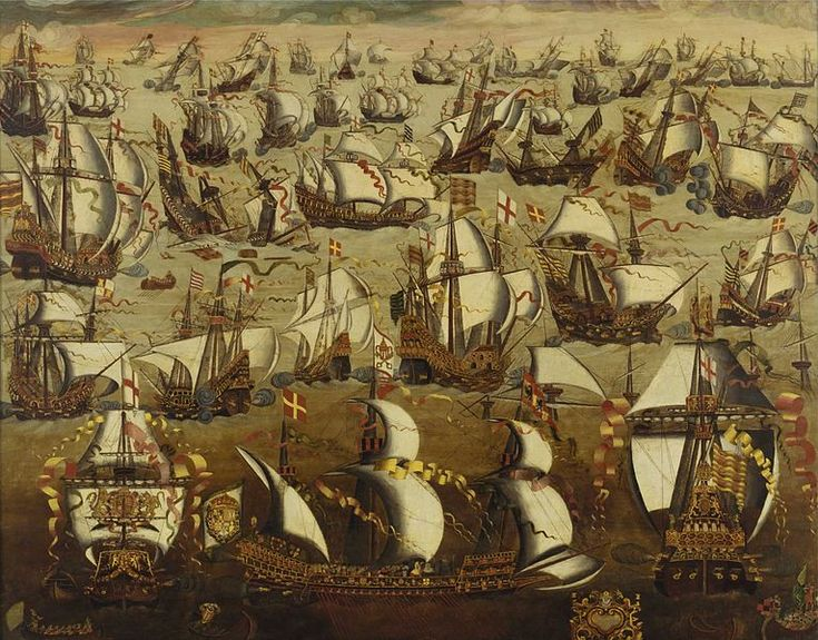 The Anglo-Spanish War: The Spanish Armada.  Man that was a crazy year, but we beat those guys like a drum! Britain Forever! I <3 Elizabeth