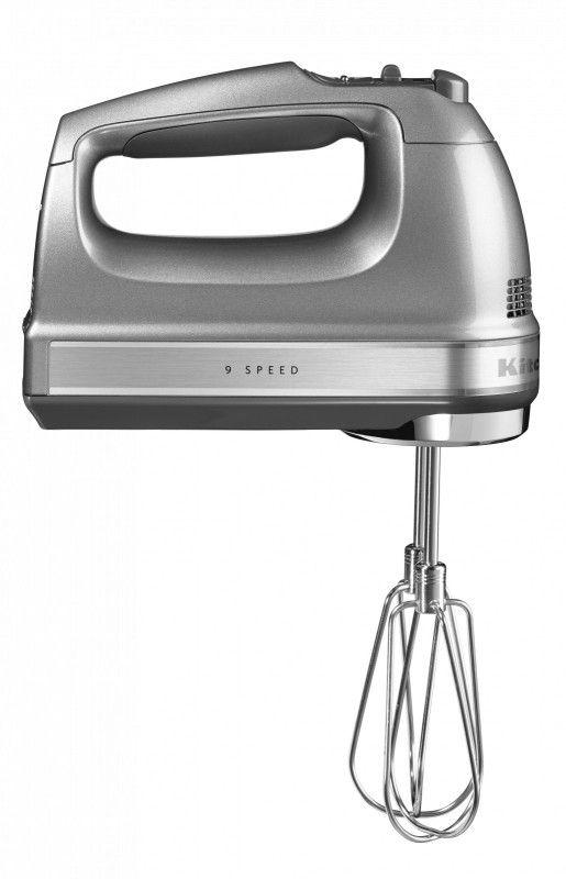 KitchenAid Handmixer Handrührer 5KHM9212ECU silber 1