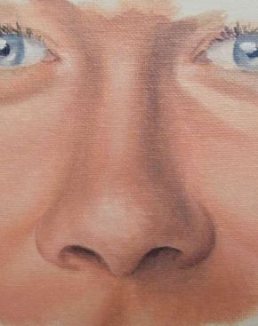 Free portrait painting tutorial - How to Paint a Nose in Oil — Online Art Lessons