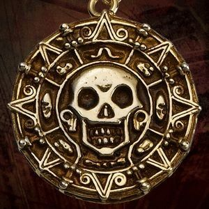 Pirate Medallion by skullgirl24, via Flickr