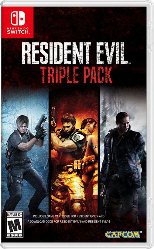 Update Resident Evil 5 And 6 Coming To Nintendo Switch In October Ign Resident Evil Resident Evil 5 Nintendo Switch Games