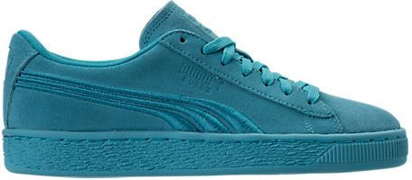 Puma Girls' Grade School Suede Classic Badge Casual Shoes
