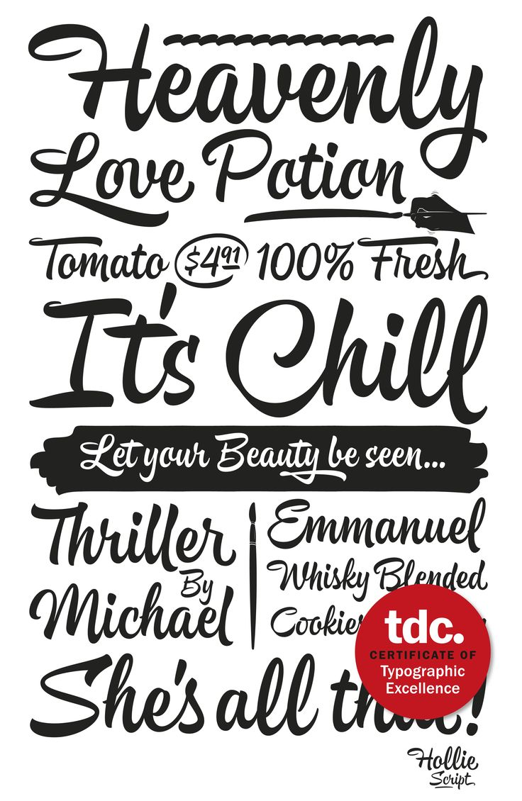 Hollie Script Pro Get the font with a 50% http://www.myfonts.com/fonts/calderon-estudio-type-foundry/hollie-script-pro/ Type Trailer: https://www.facebook.com/video.php?v=779506662139435/ www.estudiocalderon.co