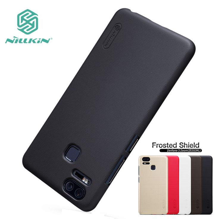 For ASUS Zenfone 3 Zoom ZE553KL Case Cover Hight Quality Super Frosted Shield +Screen Protector For ASUS Zenfone 3 Zoom 5.5''