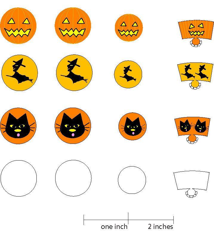 make printable coffin boxes for halloween treats - Halloween Decoration Printables