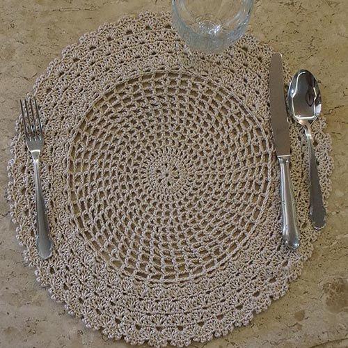 Service Plates Crochet Video - Free Pattern | Yarn Crochet | Free Pattern