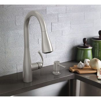 Moen Essie Single Handle Pull-down Kitchen Faucet