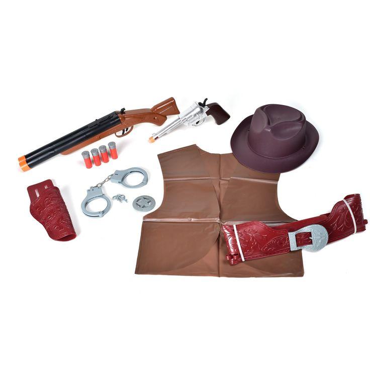 Maxx Action Western Costume - Blaze, Brown