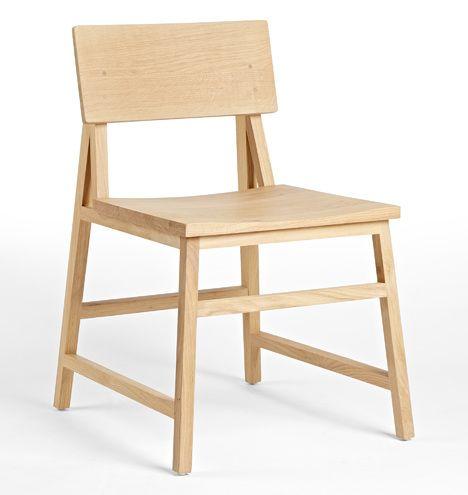 Crosby Chair White Oak D4733