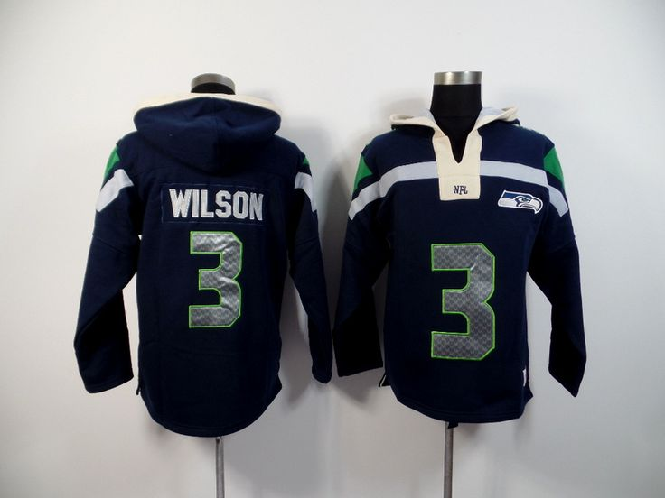 Men's Nike NFL Seattle Seahawks #3 Russell Wilson 2015 New Navy Hoodie http://www.wholesalejerseyclearance.com/nfl-seattle-seahawks_gc161_1_15.html