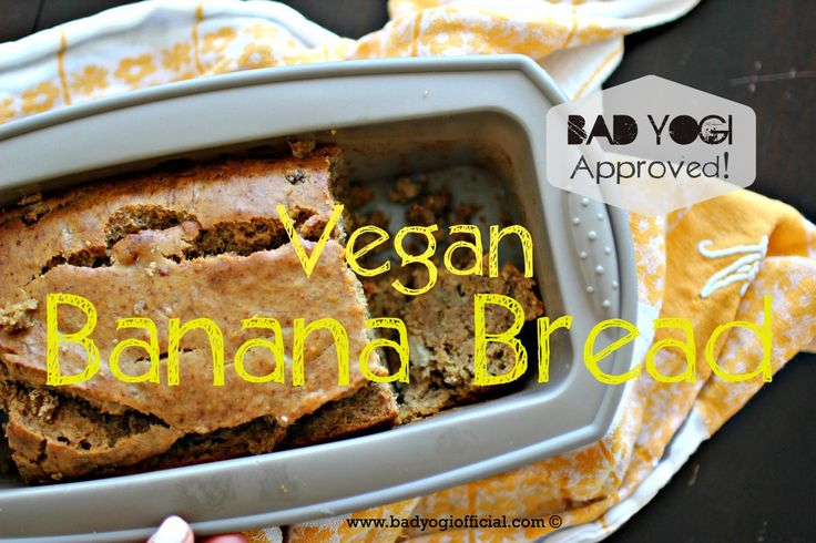 This was completely accidental. I didn't set out to make a vegan banana bread, but I didn't have eggs and we don't drink milk,...