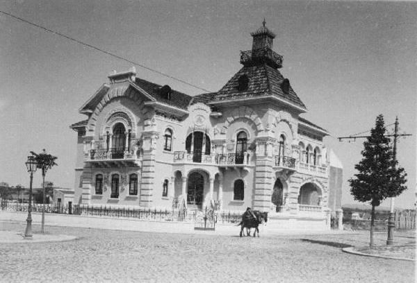 Avenida da Republica 1905.  Actual  edifício do Clube dos Empresários.