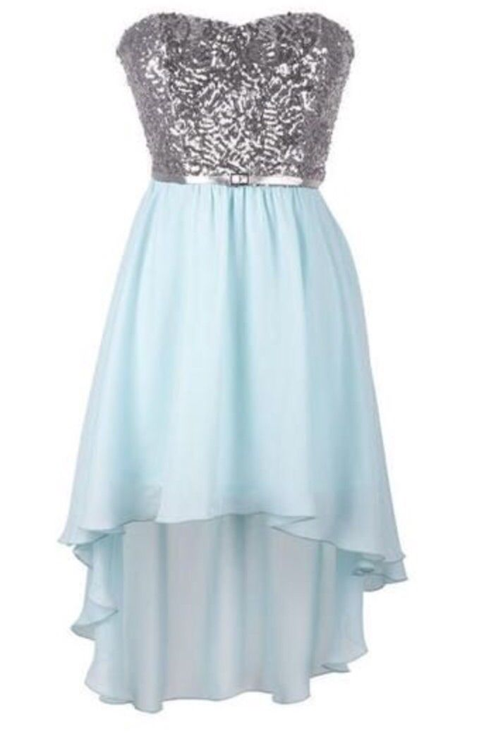 This one is my prom dress