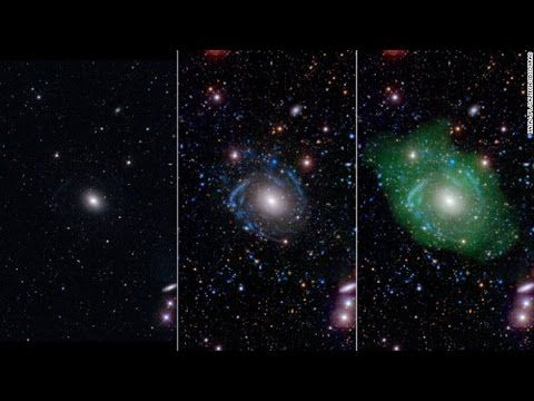 Frankenstein Galaxy Discovered