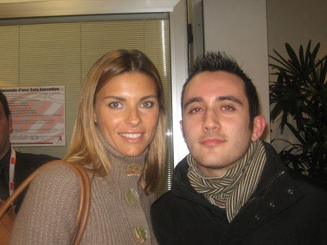 Io e Martina Colombari