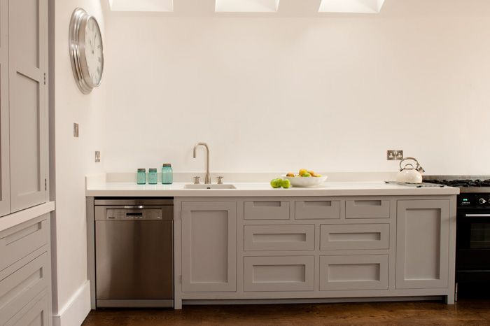 100 ideas to try about corian cabinets modern kitchens for Shaker style kitchen handles