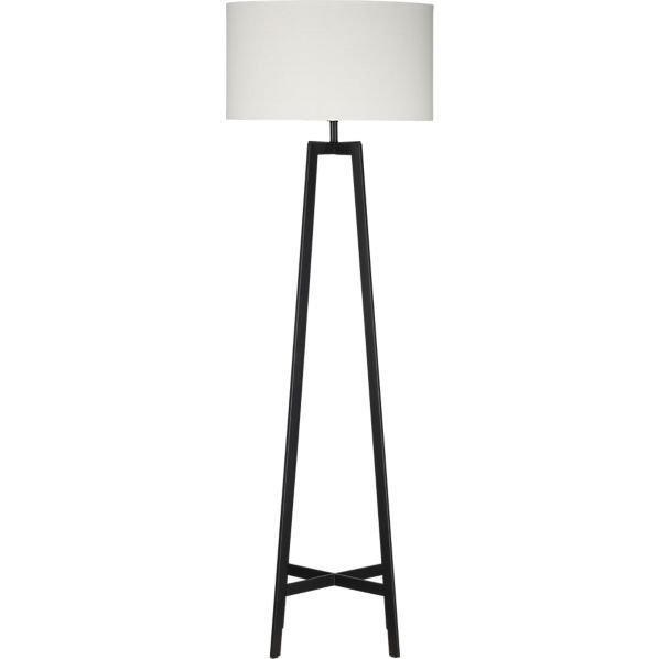 Castillo Black Floor Lamp