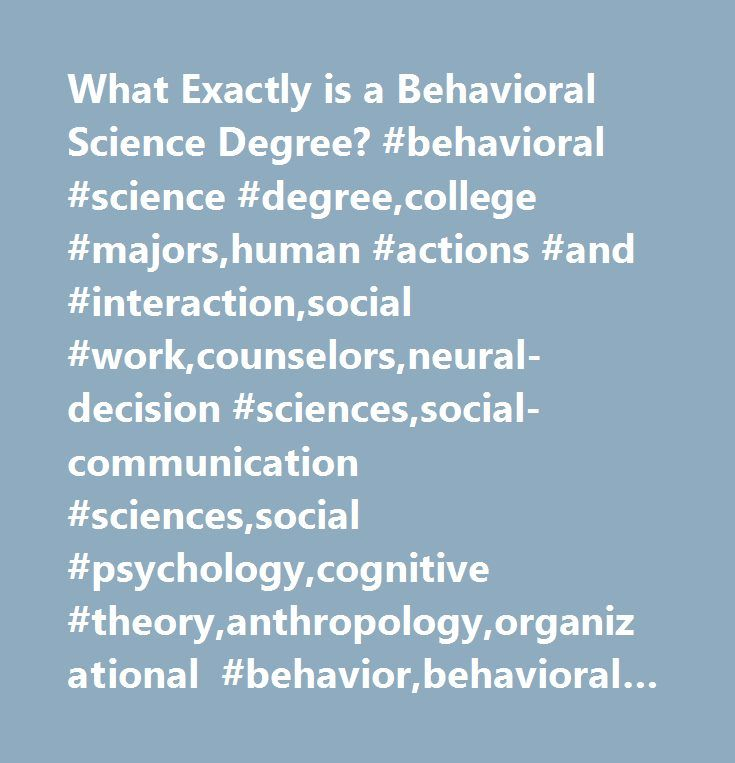 Behavioral Sciences: 25+ Best Ideas About Social Cognitive Theory On Pinterest